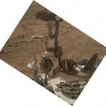 BOOM image by MAHLI. Sol 177   Image Credit: NASA/JPL-Caltech/Malin Space Science Systems