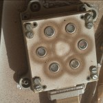 UV Sol 585 MAHLI 2014-03-30.  Image Credit: NASA/JPL-Caltech