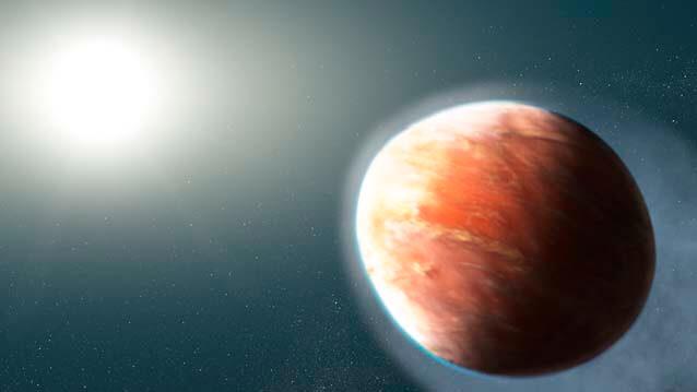 Se detectan por primera vez metales pesados 'evaporándose' en la atmósfera de un exoplaneta