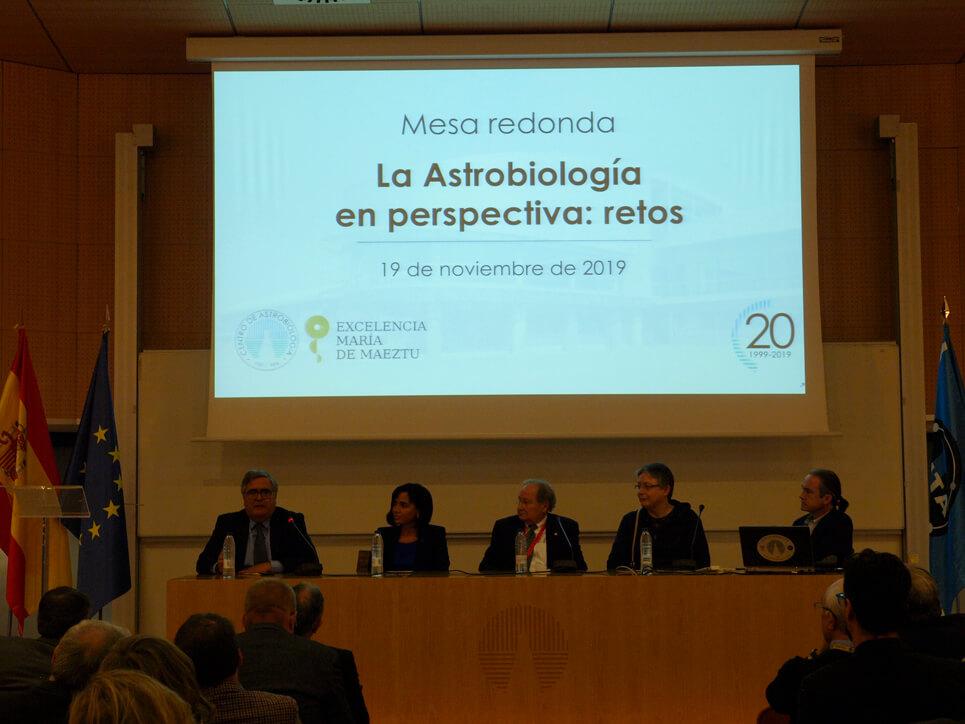20 aniversario Centro de Astrobiología