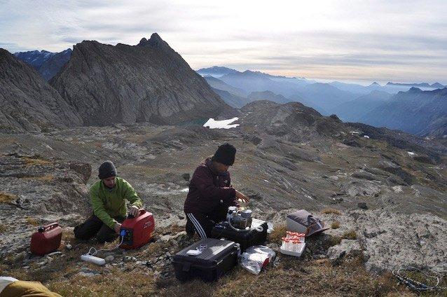 La historia del glaciar de Monte Perdido