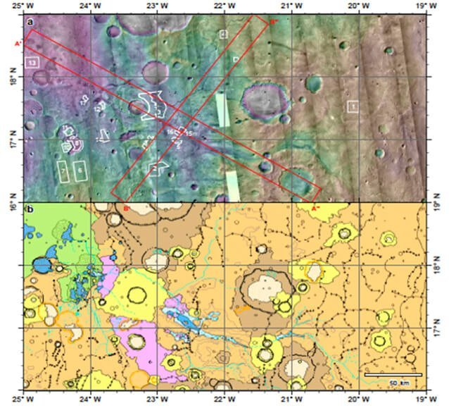 Coogoon Valles: Evolución de un Sistema complejo de canales fluviales en Marte