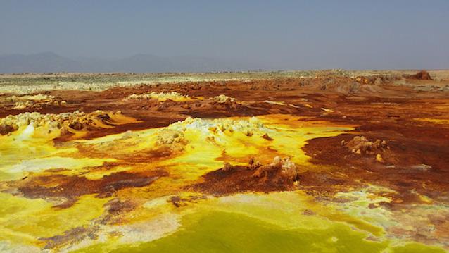 Daloll, un análogo perfecto de Marte en Etiopía