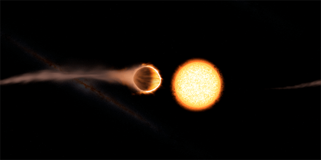 El Hubble detecta la primera estratosfera de un exoplaneta