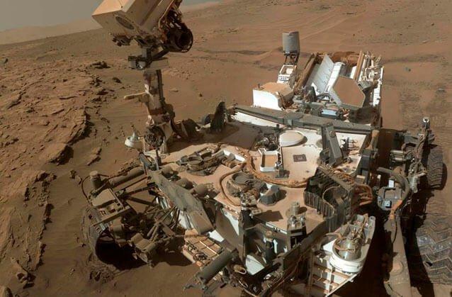 Curiosity descubre intensas variaciones estacionales del metano atmosférico en Marte