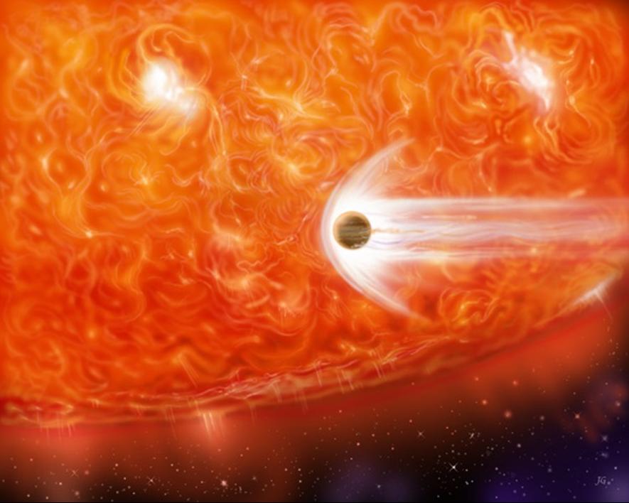 material circumestelar en sus distintas formas: discos, polvo, asteroides, planetesimales, (proto)planetas y exocometas.
