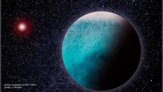 Un mundo acuático en otro sistema planetario
